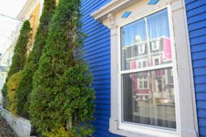 Update Your Exterior Paint Scheme - Blue exterior