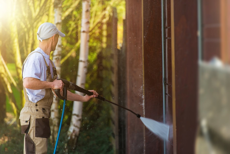 South Shore Painting Contractors - Power Washing